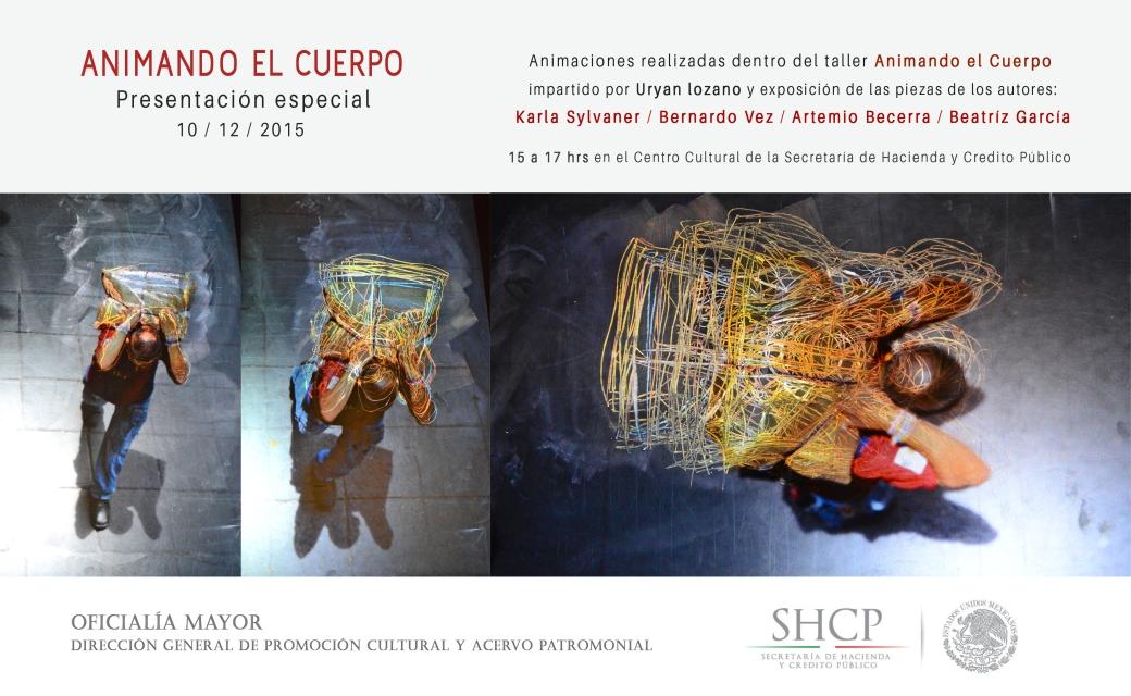 Flyer presentación especial